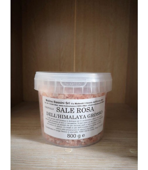 Sale rosa dell'Himalaya grosso - 800 gr