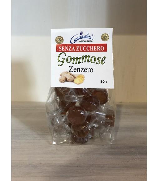 CARAMELLE GOMMOSE ALLO ZENZERO 80 gr