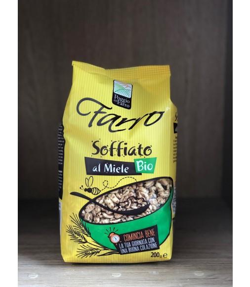 FARRO SOFFIATO AL MIELE BIOLOGICO 200 gr