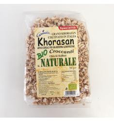 Grano khorasan soffiato 100% BIOLOGICO